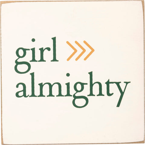 Girl Almighty - Block Magnet