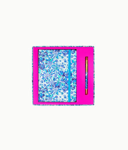 Lilly Pulitzer Journal With Pen in High Maintenance