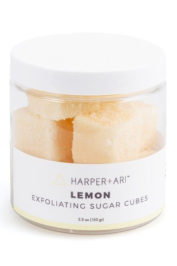 Harper + Ari Exfoliating Sugar Cubes- Lemon