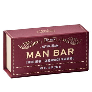 The Man Bar Soap- Revitalizing