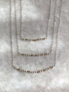 Morse Code Necklaces : Be Kind, Be Brave, Love