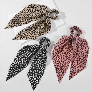 Brush Dot Hair Scarves: in 5 colors