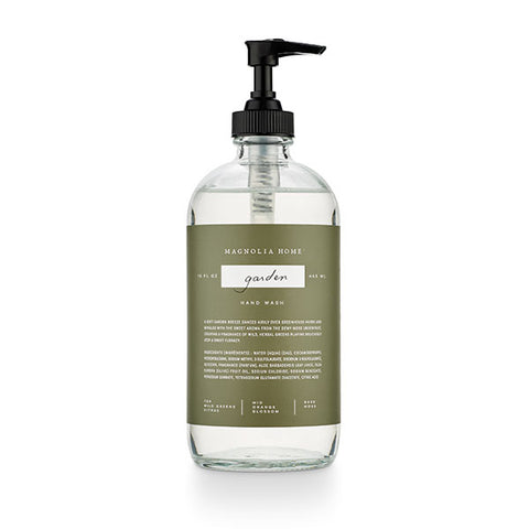 Magnolia Home Glass Hand Wash- Garden