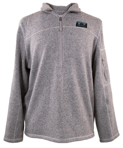 Simply Southern Mens Knit Pullover in Grey