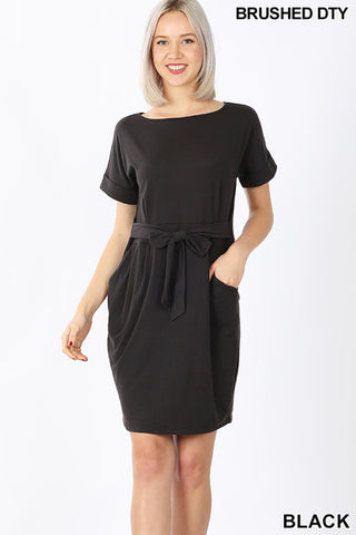 The Callie Dress in Black