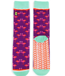 Socks: Flamingle Flamingo