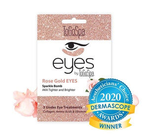 Rose Gold Eyes Mask: AKA Tighter and Brighter