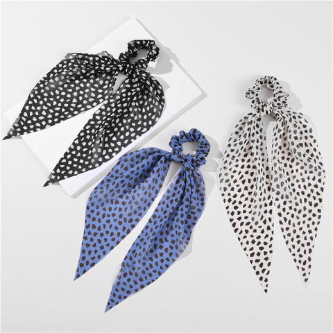 Spotty Dot Hair Scarf: in 3 colors