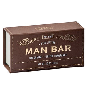 The Man Bar Soap- Exfoliating