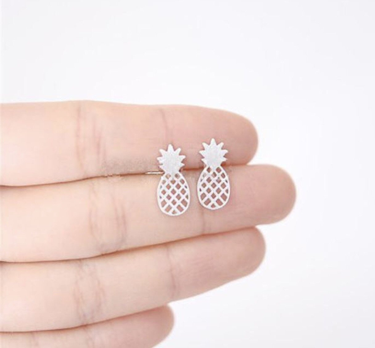 Lauren Lane Pineapple Studs