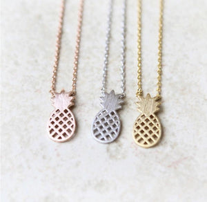 Lauren Lane Pineapple Necklace