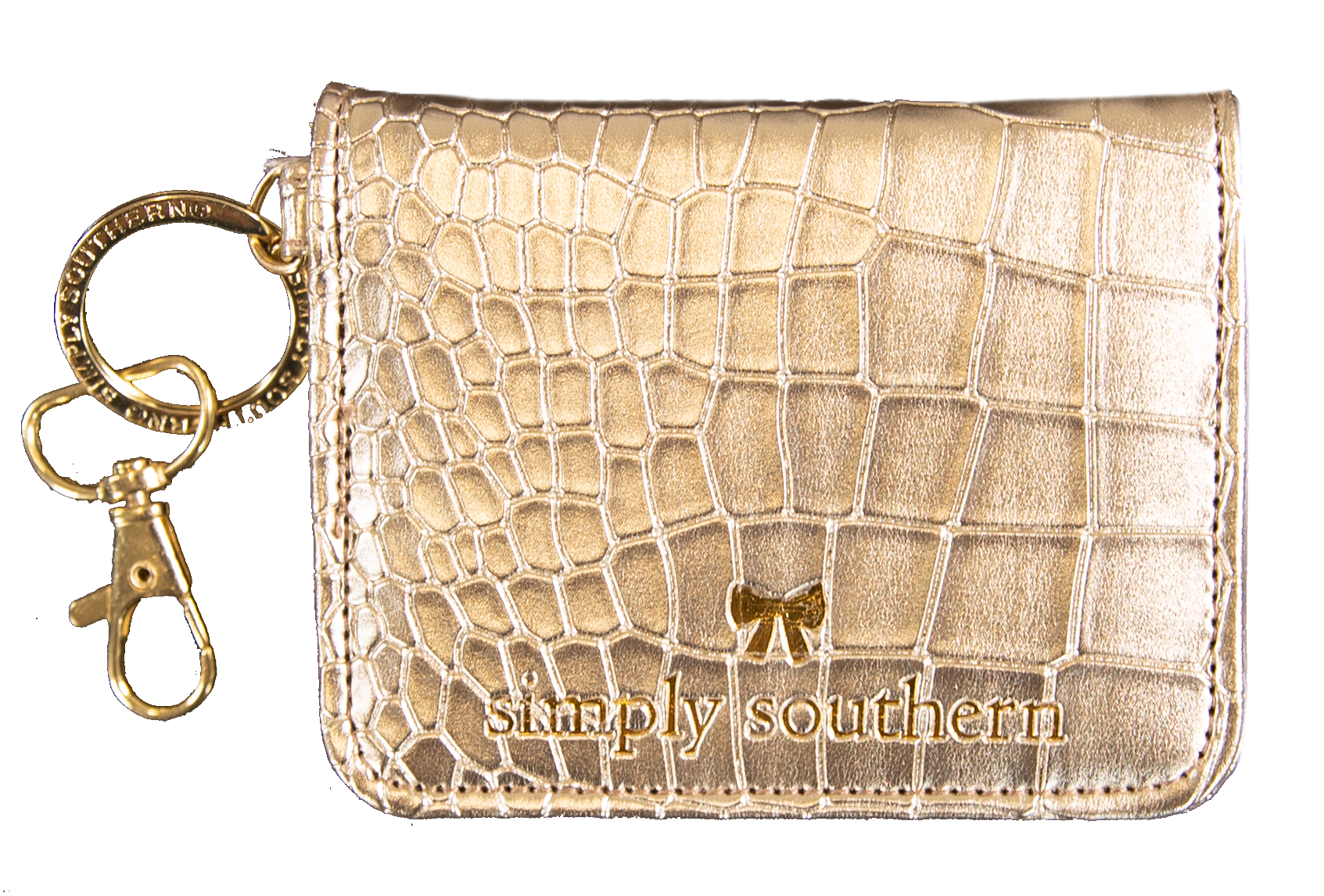 Simply Southern Butterfly Wallet- Gold
