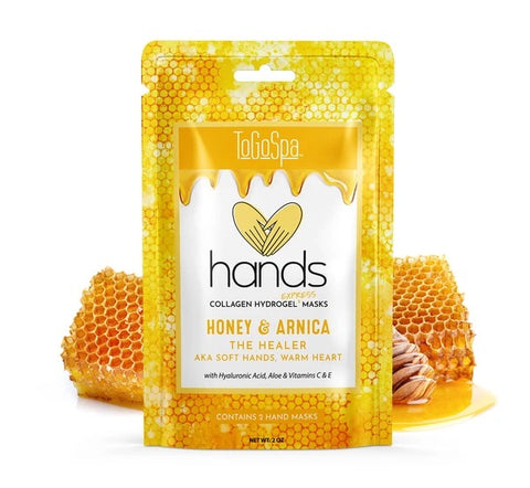Hands Honey and Arnica Mask: AKA Soft Hands, Warm Heart