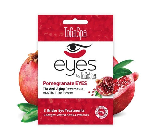 Pomegranate Eyes Mask: AKA The Time Traveler