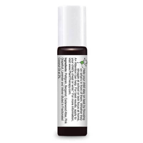 Plant Therapy - A+ Attention - Kids Essential Oil Roll-On