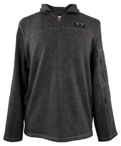 Simply Southern Mens Knit Pullover in Black