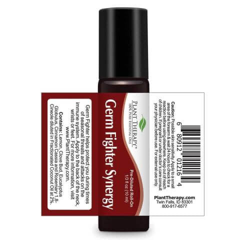 Plant Therapy - Germ Fighter Synergy Essential Oil Roll-On