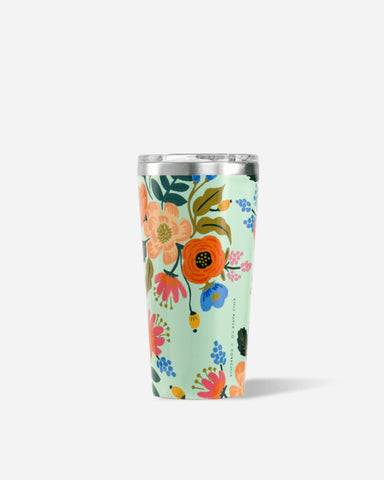 Corkcicle 16oz Tumbler in Mint Lively Floral