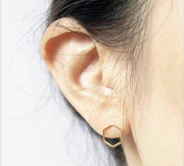 Lauren Lane Honeycomb Studs