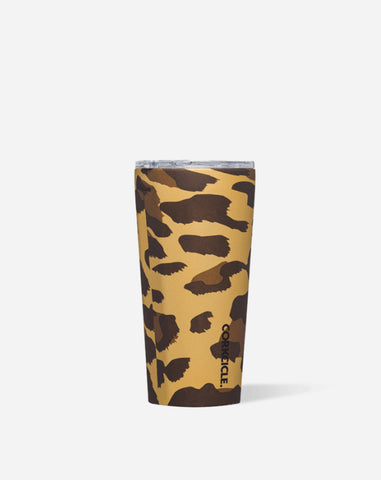 Corkcicle 16oz Tumbler in Luxe Leopard