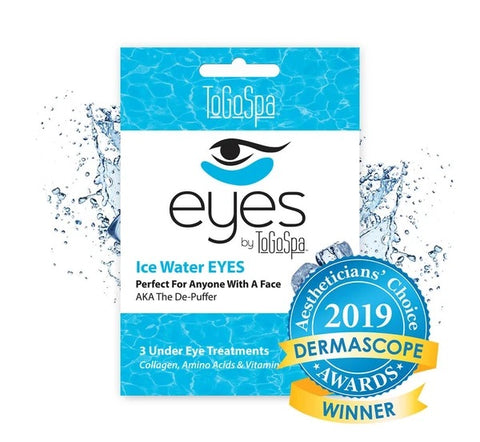 Ice Water Eyes Mask: AKA The De-Puffer