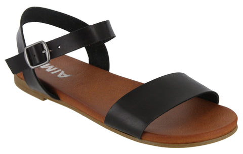 MIA Piper Sandal in Black