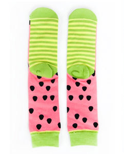 Socks: Watermelon Slice