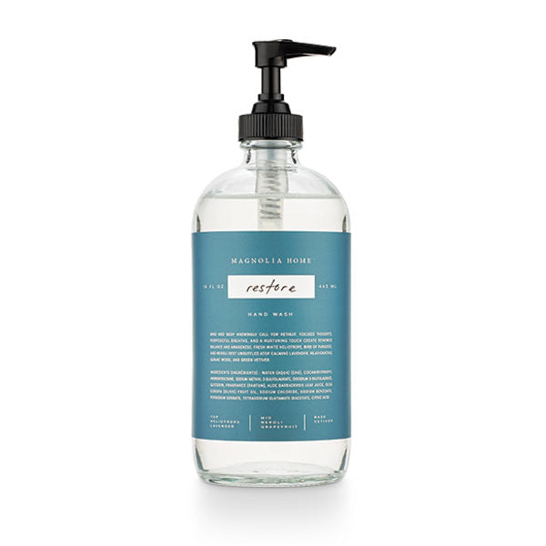 Magnolia Home Glass Hand Wash- Restore