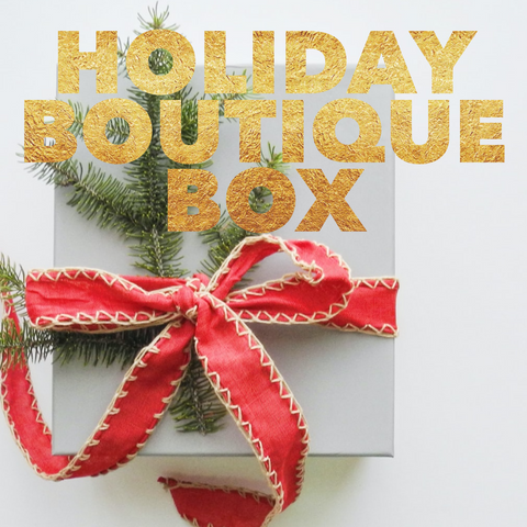 THE Holiday Boutique Box 2020 Edition