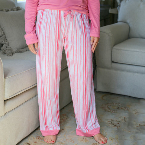 Sweet Stripes Sleep Pants