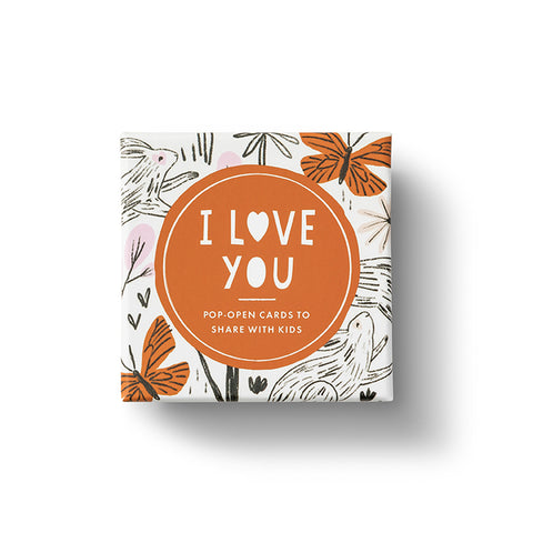 Compendium Thoughtfulls Kids Pop Open Cards - I Love You