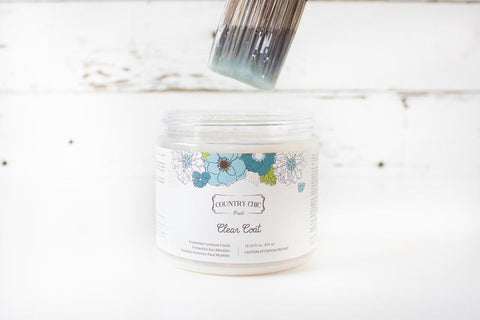 Country Chic Paint - Clear Coat (4oz)