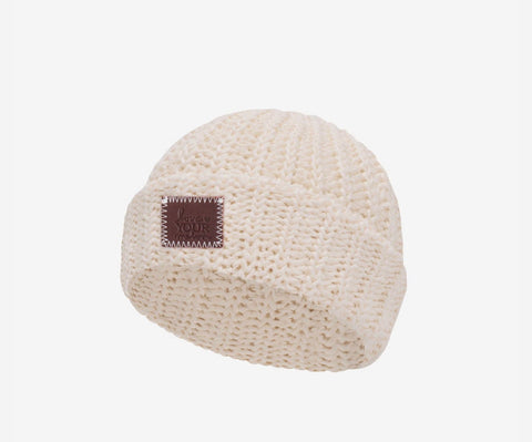 Love Your Melon Natural Classic BABY Beanie