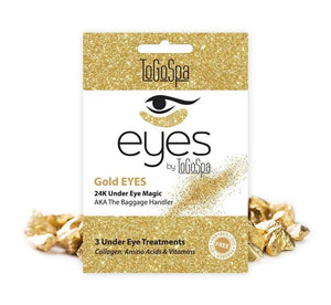 Gold Eyes Mask: AKA The Baggage Handler