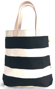 See Design Tall Tote- Large Plank Black