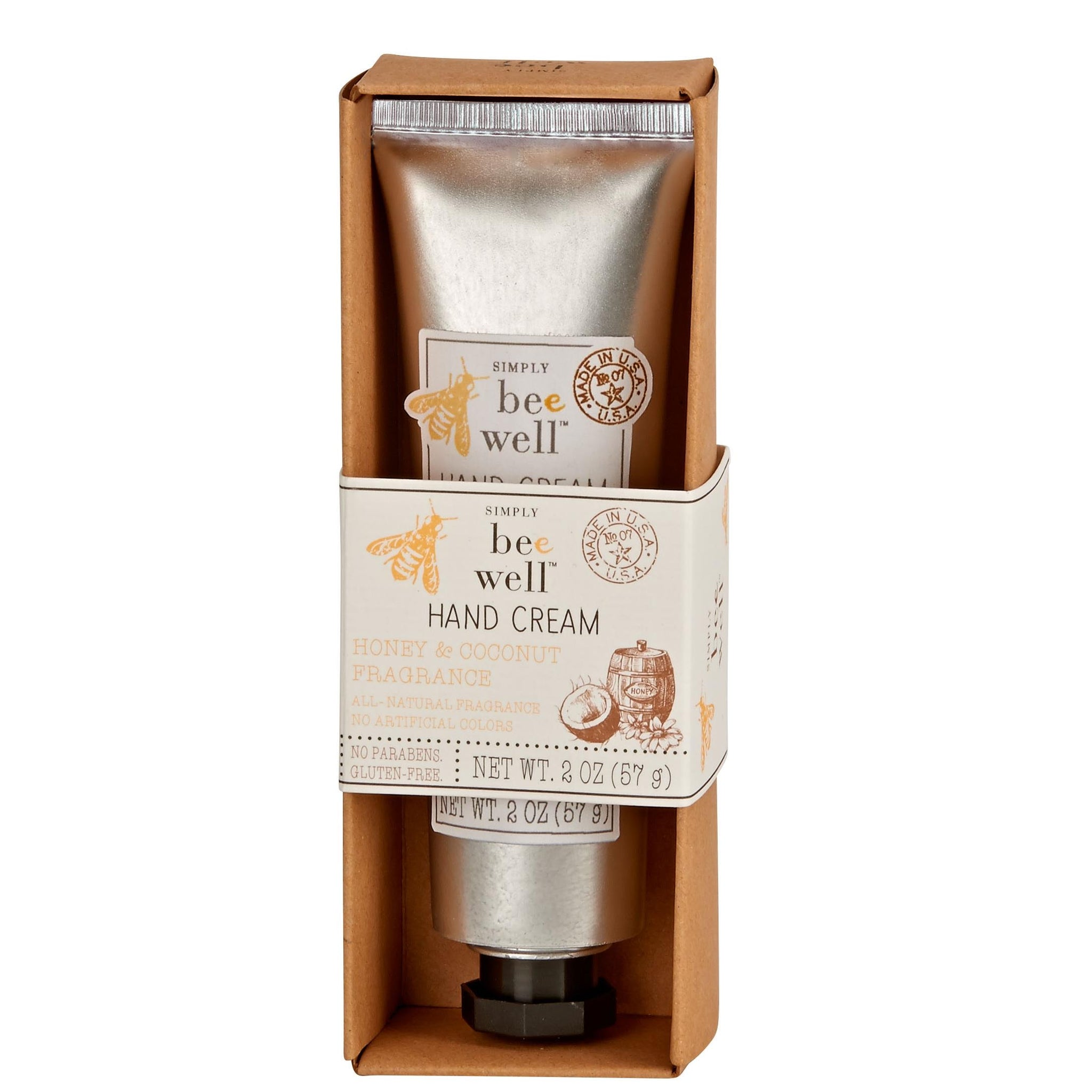 Simply Bee Well Hand Cream: Honey & Coconut