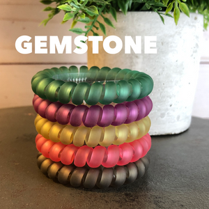 Large Hair Coils: Gemstone