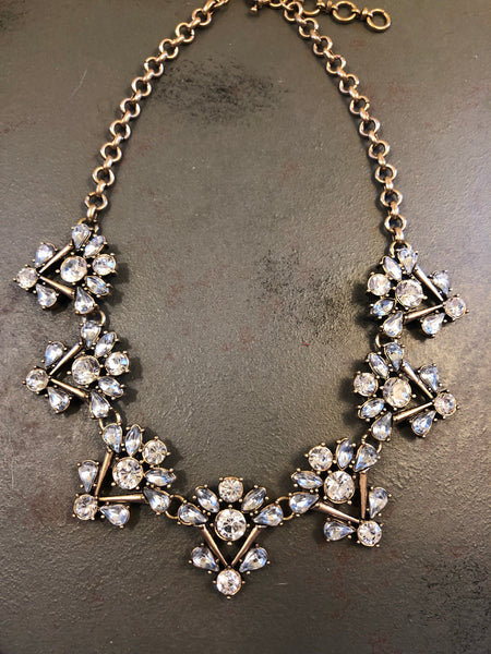 Natalia Rhinestone Statement Necklace