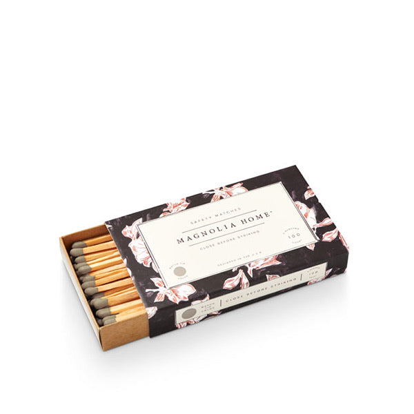 Magnolia Home Boxed Matches- Bloom