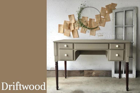 PINT (16 OZ) in Driftwood - Country Chic Paint - All-In-One Chalk-Style Paint