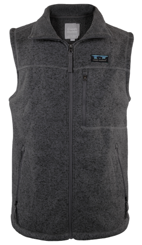 Simply Southern Mens Knit Vest in Black
