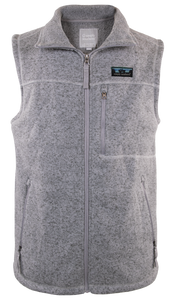 Simply Southern Mens Knit Vest Grey