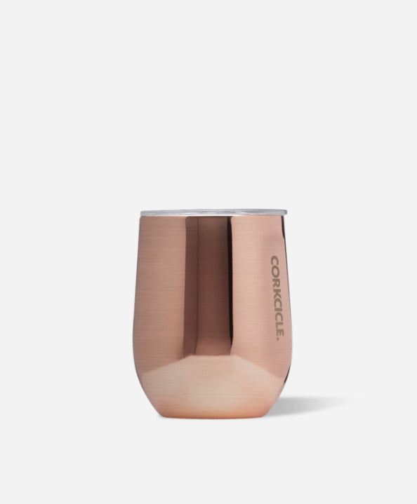 Corkcicle Stemless 12oz Tumbler- Copper