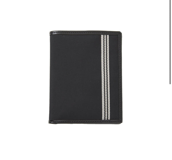 Baekgaard Passport Wallet in Microfiber Black