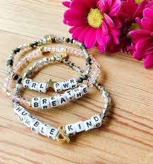 Little Words Bracelets