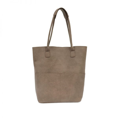 Kelly North South Tote in Mushroom