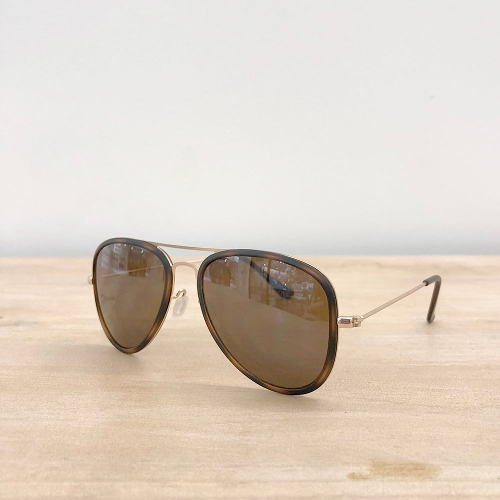 Langley Pilot Sunglasses
