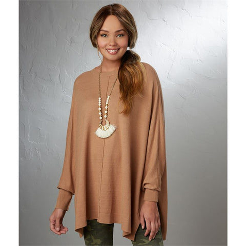 Leni Relaxed Camel Sweater