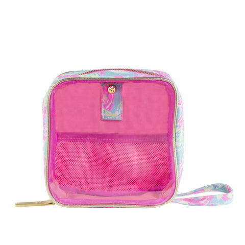 Lilly Pulitzer Cord Travel Organizer in Totally Blossom