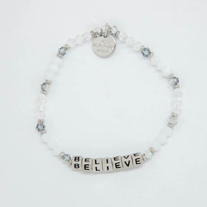 Believe - Silver Bead - Little Words Project